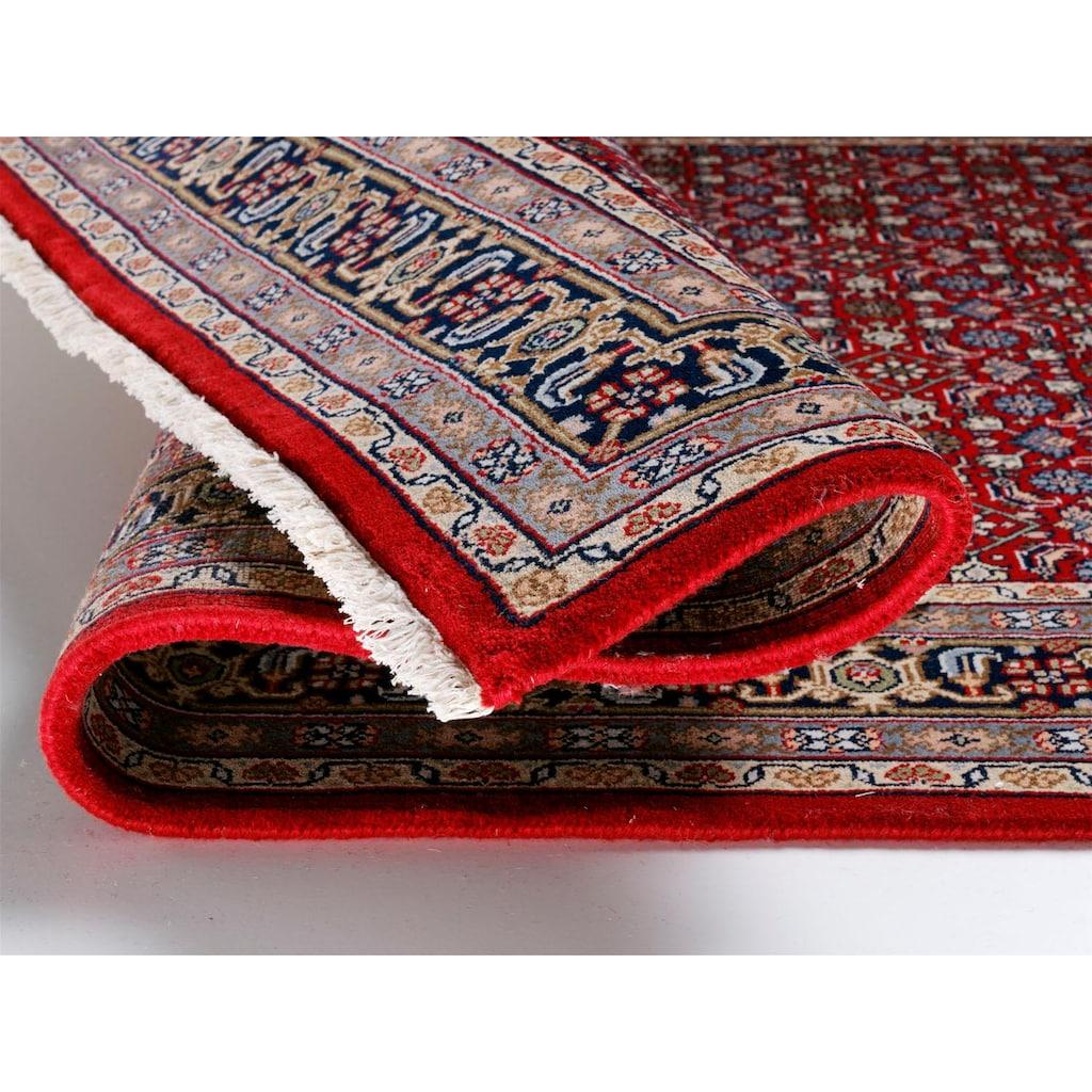 OCI DIE TEPPICHMARKE Läufer »Himla Herati«, rechteckig, 20 mm Höhe, reine Wolle, handgeknüpft, mit Fransen