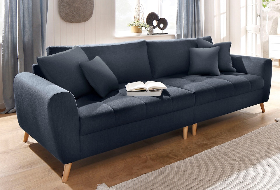 Home Affaire Big Sofa Jordsand Bequem Auf Raten Bestellen