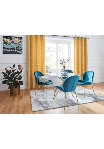 Leonique Vorhang »CHENILLE«, Samt Optik, Chenille, blickdicht mit aufwendigem Muster kaufen