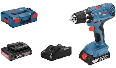 Bosch Professional Powertools Akku-Bohrschrauber »GSR 18V-21«, (Set), inkl. 2 Akkus,... kaufen
