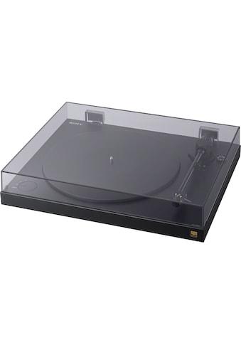 Sony Plattenspieler »Sony PS-HX500 Plattenspieler mit High-Resolution-Audio-Ripping-Funktion«, USB-Schnittstelle kaufen