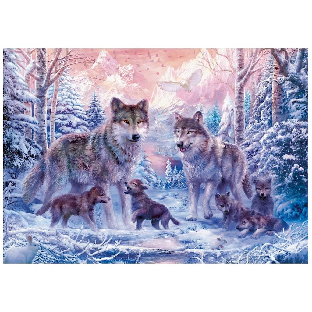 Ravensburger Puzzle »Arktische Wölfe«, Made in Germany, FSC® - schützt Wald - weltweit