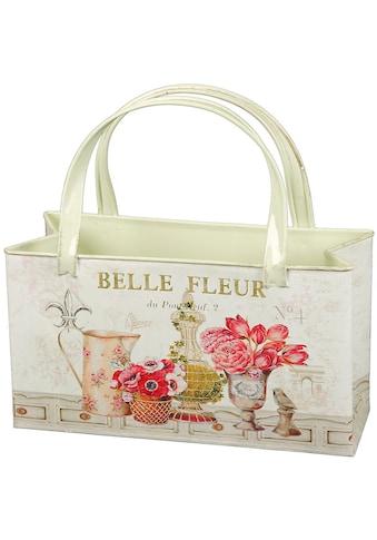 Ambiente Haus Übertopf »Fleur-Tasche aus Metall« kaufen