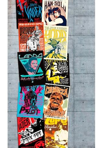 Komar Vliestapete »Star Wars Rock On Wall«, Comic kaufen