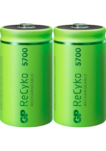 GP Batteries Akku »D Mono Akku GP NiMH 5700 mAh ReCyko 1,2V 2 Stück«, D, 5700 mAh kaufen