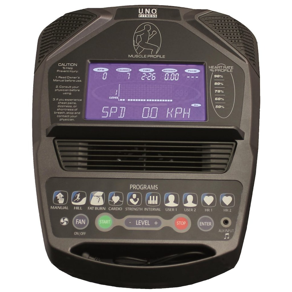 U.N.O. FITNESS Crosstrainer-Ergometer »Crosstrainer XE 5.0«
