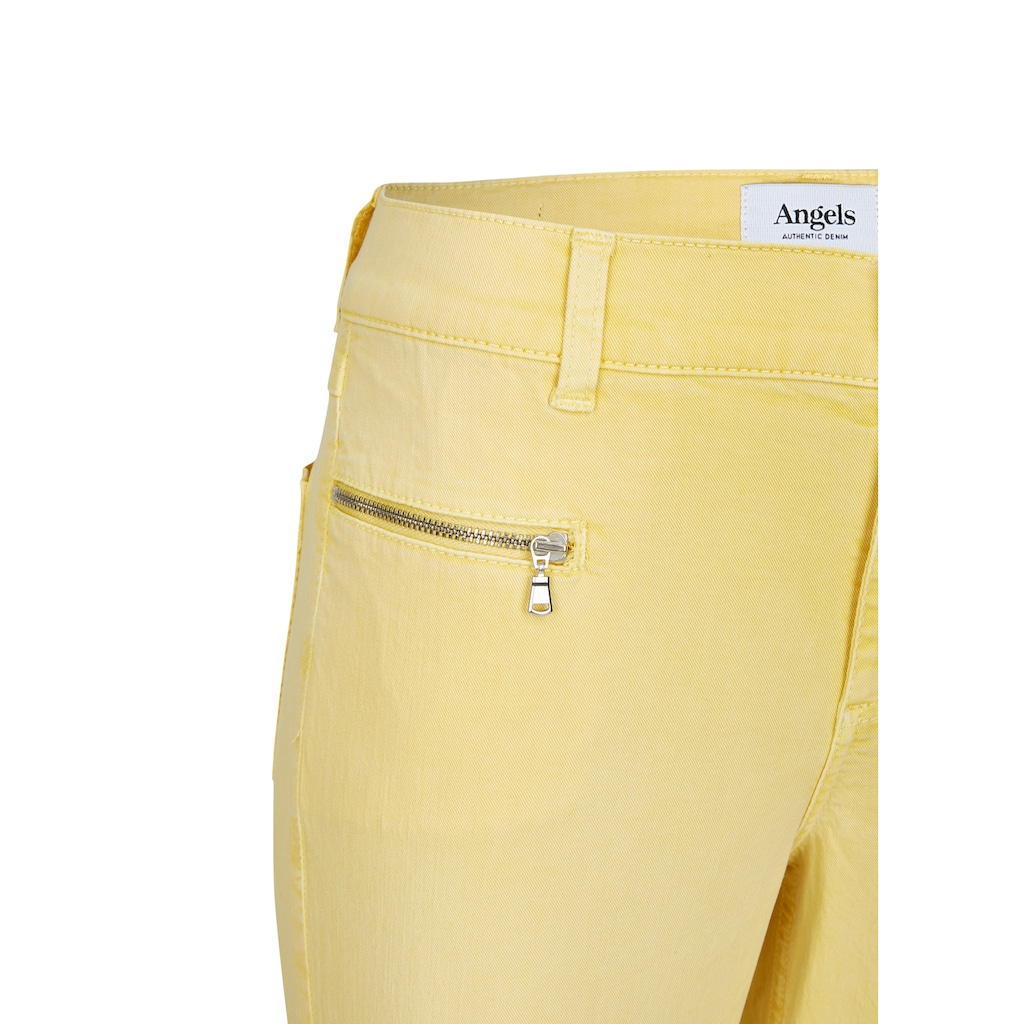 ANGELS Ankle-Jeans,Lou Lou' im unifarbenen Design