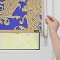 Seitenzugrollo »Verdunkelungsrollo Klemmfix«, POMPÖÖS by Lichtblick, verdunkelnd, ohne Bohren, freihängend