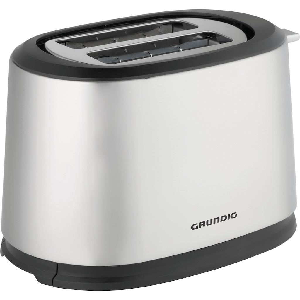 Grundig Toaster »TA 5620«, 2 kurze Schlitze, 850 W