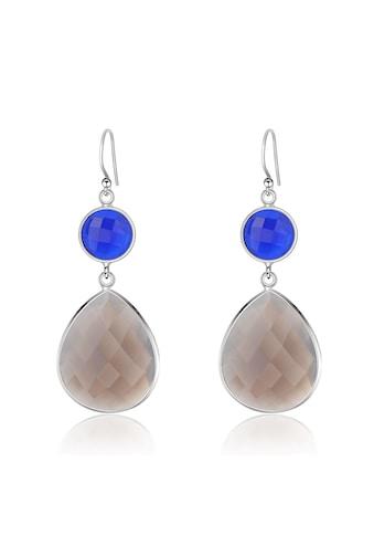AILORIA Paar Ohrhänger »GENTIANE Ohrringe«, mit lolith und Chalcedon kaufen