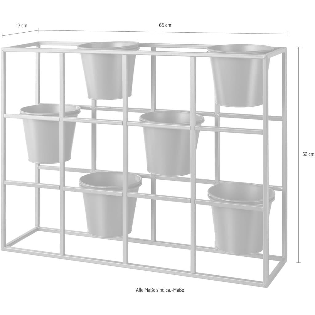 Creativ home Blumenkasten, Pflanzen-Raumteiler, Blumentopfständer
