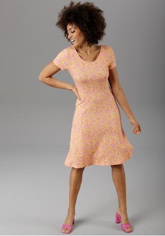 Aniston SELECTED Sommerkleid, mit modischem Rückenausschnitt kaufen