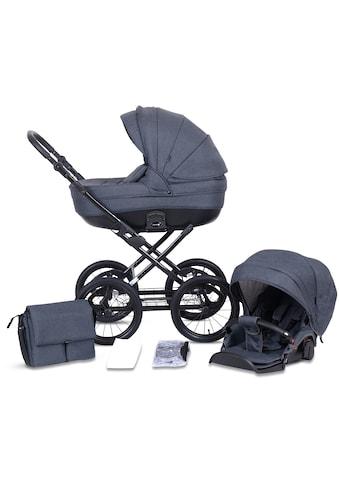 Knorrbaby Kombi-Kinderwagen »Kreta, anthrazit«, Made in Europe; Kinderwagen kaufen