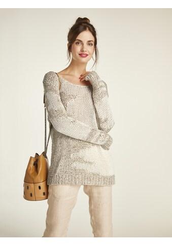 Pullover mit Bändchengarn kaufen