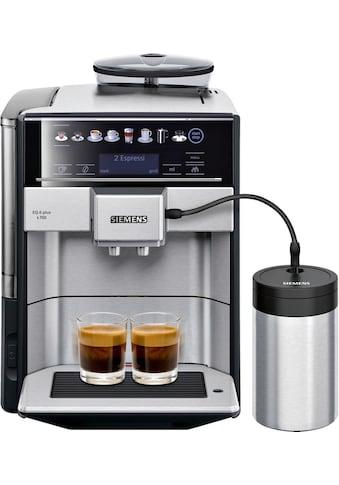 SIEMENS Kaffeevollautomat EQ.6 plus s700 TE657M03DE, 1,7l Tank, Scheibenmahlwerk kaufen