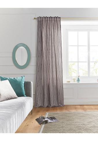 Guido Maria Kretschmer Home&Living Vorhang »GLORIA«, blickdicht, strukturierter Stoff,... kaufen