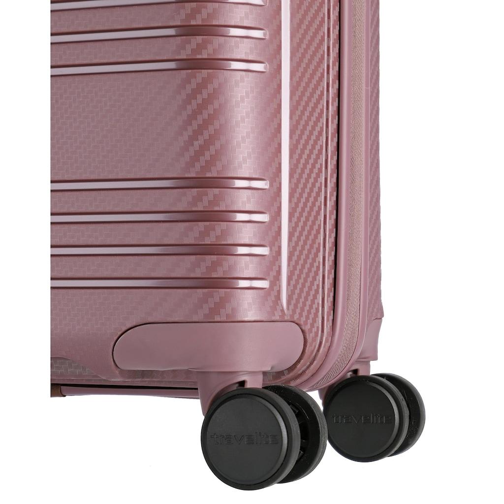 travelite Hartschalen-Trolley »Zenit flieder, 68 cm«, 4 Rollen