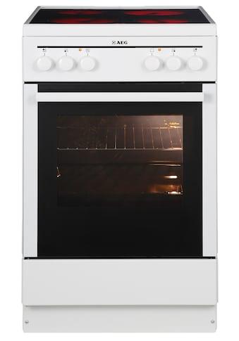 AEG Elektro-Standherd »40095VA-WN/COMPETENCE«, mit Grillfunktion kaufen