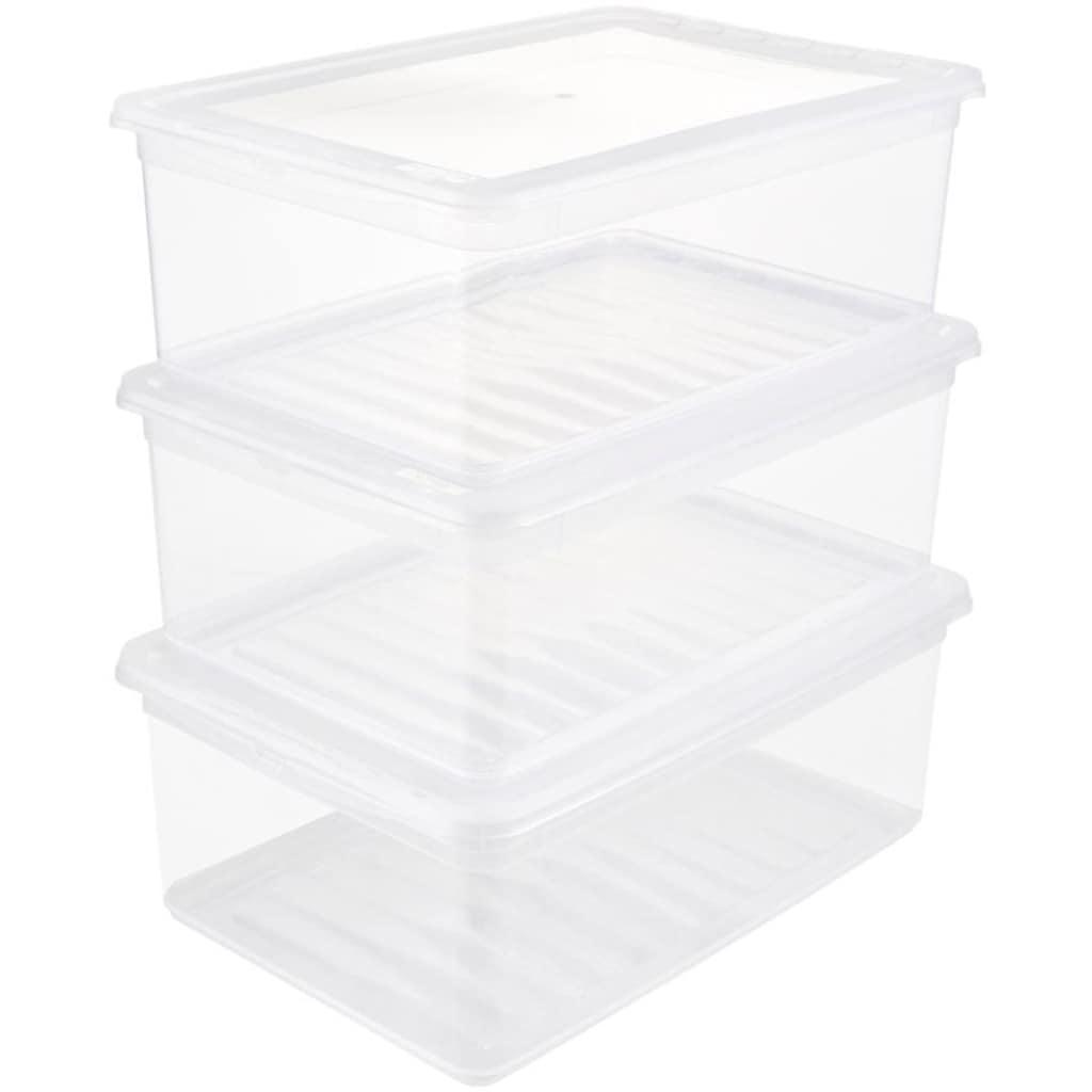 keeeper Stapelbox »bea«, (Set, 3 St.), mit Belüftungsfunktion