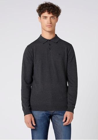 Wrangler Langarm-Poloshirt kaufen