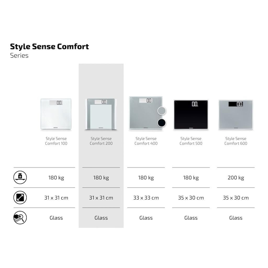 Soehnle Personenwaage »PWD Style Sense Comfort 200«