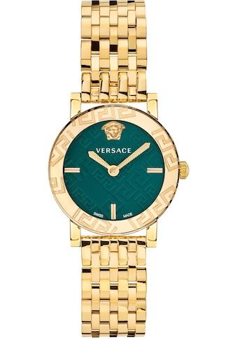 Versace Schweizer Uhr »GRECA GLASS, VEU300521« kaufen