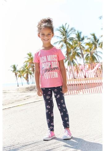 KIDSWORLD Shirt & Leggings, mit Einhorn - Spruch kaufen