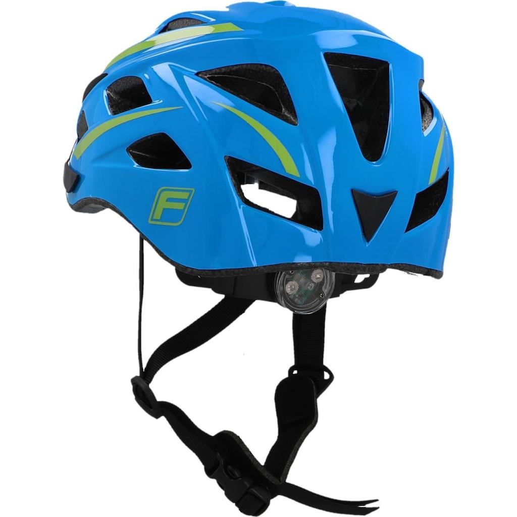 FISCHER Fahrräder Fahrradhelm »Fahrradhelm Urban Montis S/M«, Verstellbarer Innenring-System; mit beleuchtetem Innenring-System