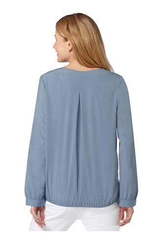 Inspirationen Bluse mit gekreuzten Bändern am Ausschnitt kaufen