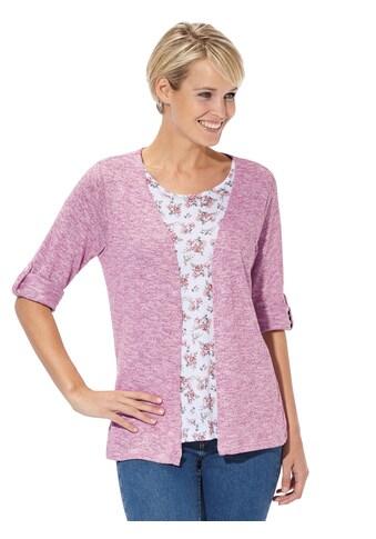 Classic Basics Shirt im 2 - in - 1 - Stil kaufen