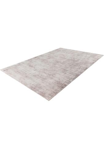 LALEE Teppich »Premium 500«, rechteckig, 15 mm Höhe, Viskose mit Seiden-Optik, Wohnzimmer kaufen