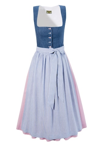 Love Nature Dirndl in Jeans - Optik kaufen