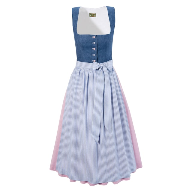 Love Nature Dirndl in Jeans-Optik