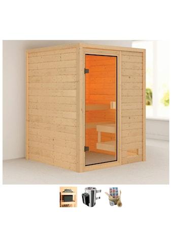 Karibu Sauna »Sandy«, 3,6-kW-Plug & Play Ofen mit int. Steuerung kaufen
