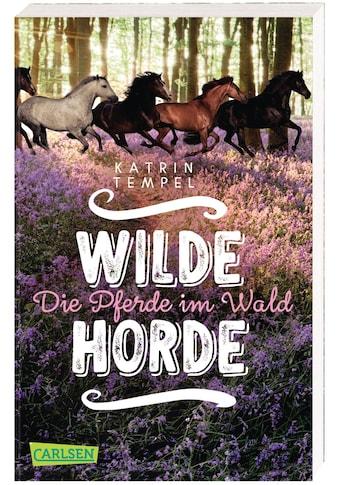 Buch »Wilde Horde 1: Die Pferde im Wald / Katrin Tempel« kaufen