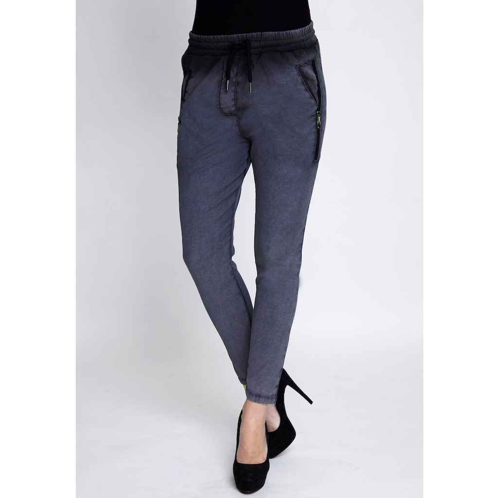 Zhrill Jogger Pants »FABIA«, in Washed Optik