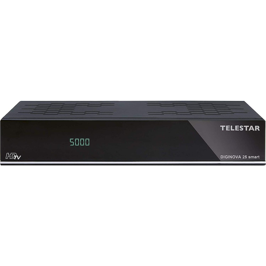 TELESTAR DVB-T2 HD Receiver »DIGINOVA 25 smart«, USB PVR Funktion, Amazon Alexa