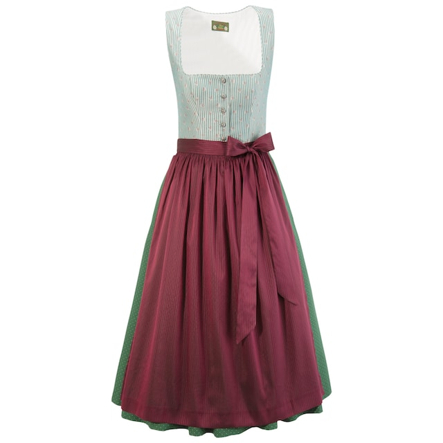 Love Nature Dirndl midi mit All-Over Muster