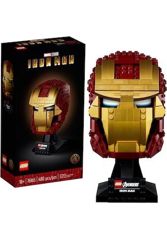 LEGO® Konstruktionsspielsteine »Iron Mans Helm (76165), LEGO® Marvel Avengers Movie... kaufen