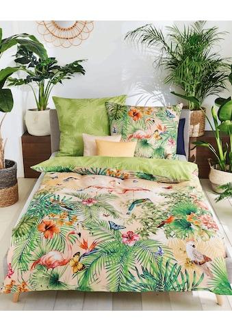 Kaeppel Wendebettwäsche »Bora Bora«, mit exotischem Print kaufen