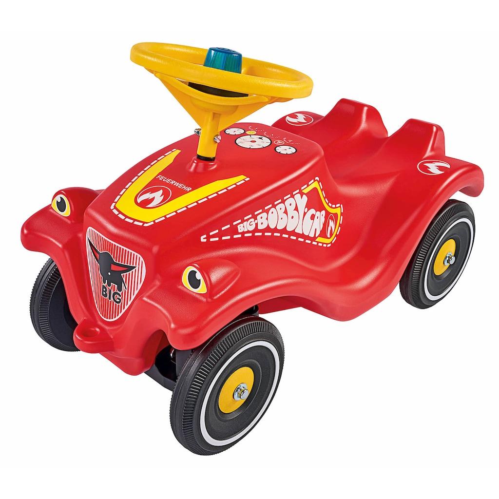 BIG Rutscherauto »BIG-Bobby-Car-Classic Feuerwehr«, Made in Germany; mit Licht- und Soundmodul