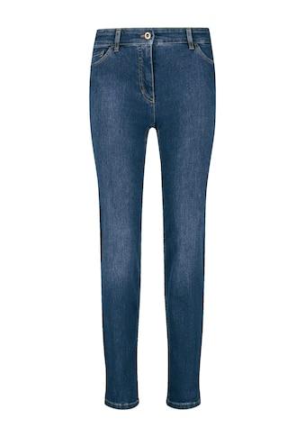GERRY WEBER Straight - Jeans »5 - Pocket Jeans Straight Fit Kurzgröße« kaufen