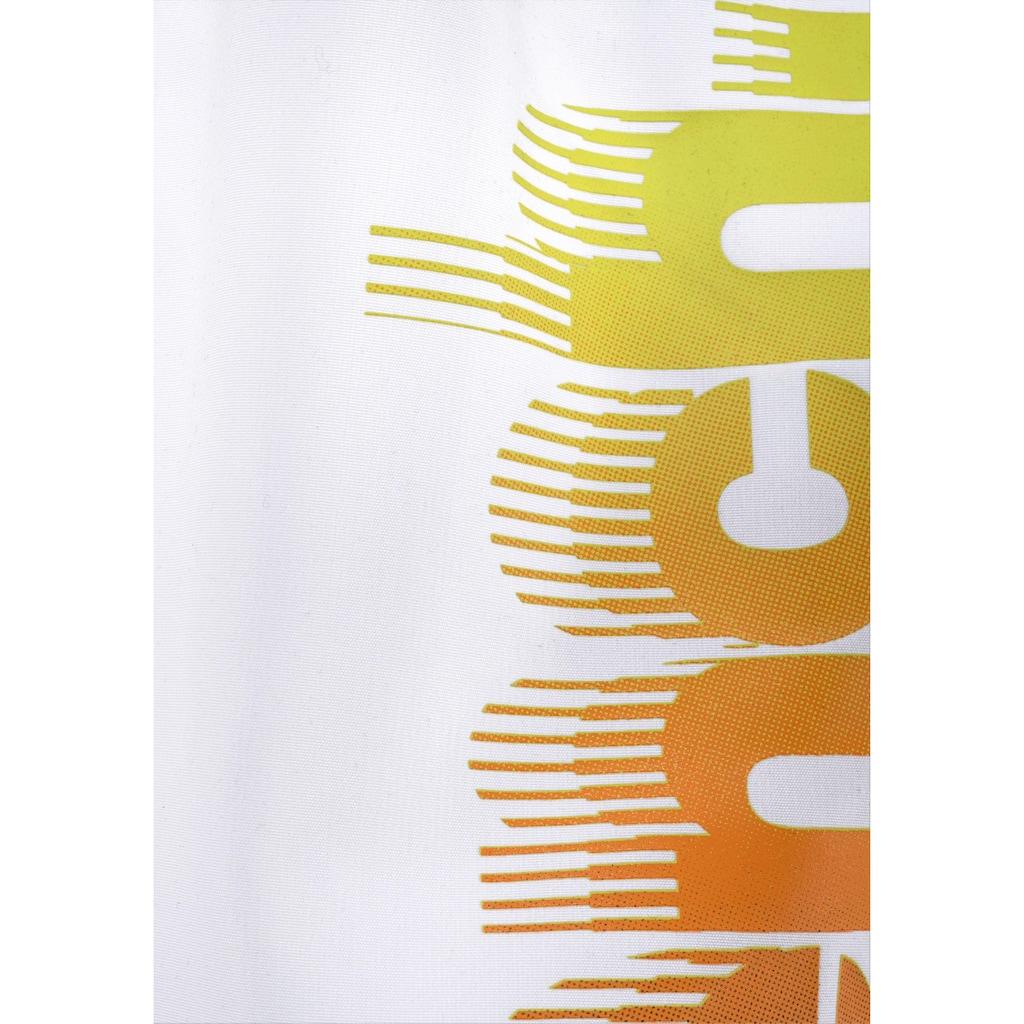 Bench. Badeshorts, Logodruck am Bein