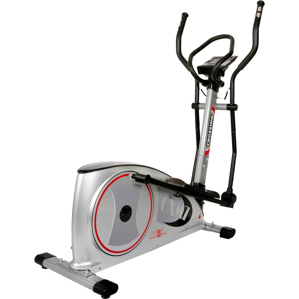 Christopeit Sport® Crosstrainer-Ergometer »CXM 7«, Backlit LCD Display mit Tablet- bzw. Smartphonehalterung