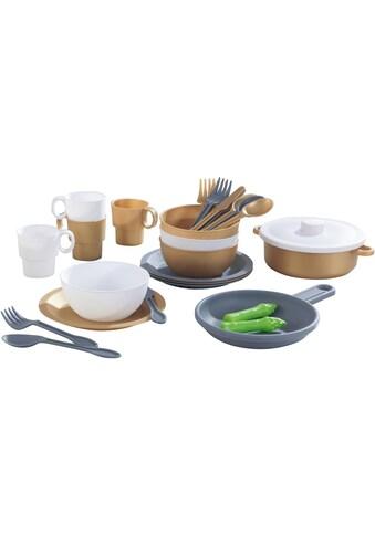 KidKraft® Kinder-Küchenset »Küchen-Spielset, Modern Metallics« kaufen