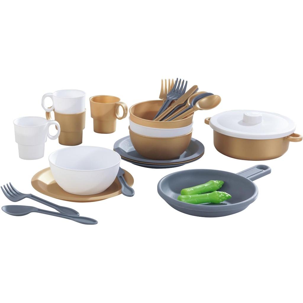 KidKraft® Kinder-Küchenset »Küchen-Spielset, Modern Metallics«