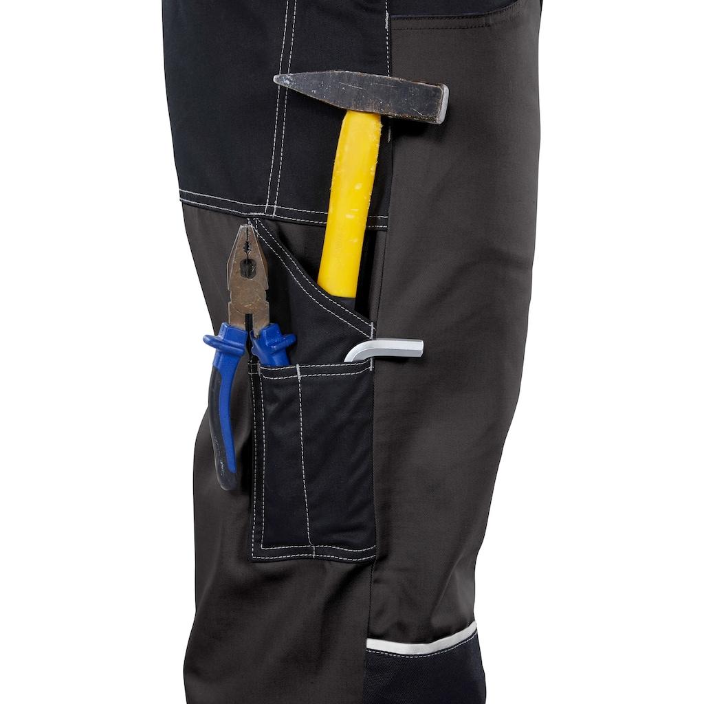 Northern Country Latzhose »Worker«, mit verstärktem Kniebereich