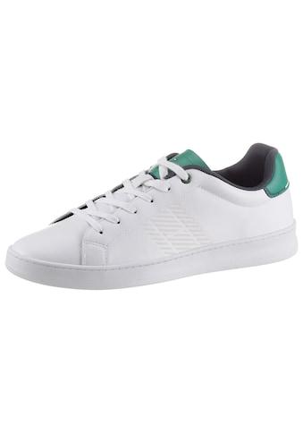 Tommy Hilfiger Sneaker »RETRO TENNIS CUPSOLE LEATHER«, mit Kontrastbesatz kaufen