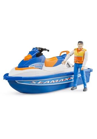 Bruder® Spielzeug-Jetski »Personal Water Craft mit Fahrer«, Made in Germany kaufen