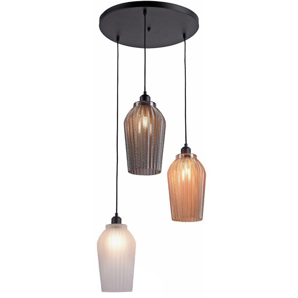 Leuchten Direkt Pendelleuchte »TABEA«, E27, 1 St., Hängeleuchte, Hängelampe